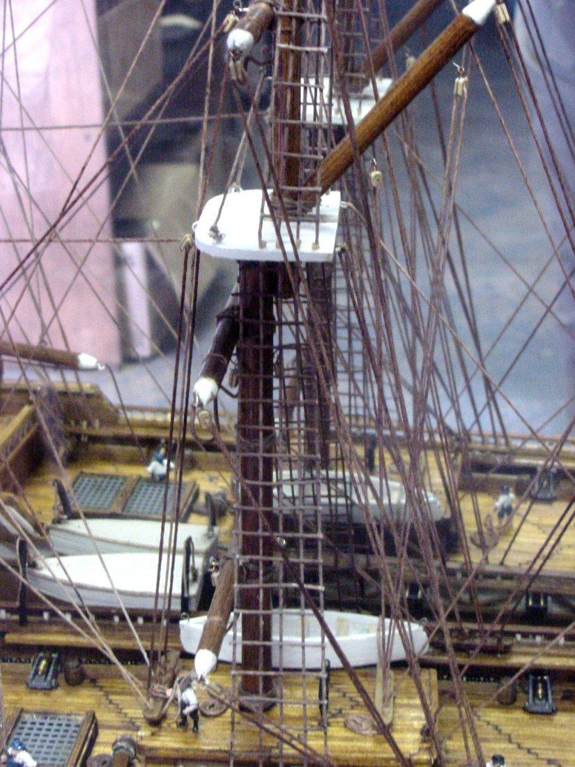 Prison Folk Art Match Stick Ship Tenn - 6