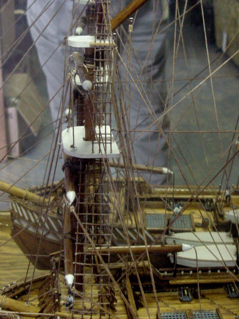 Prison Folk Art Match Stick Ship Tenn - 7