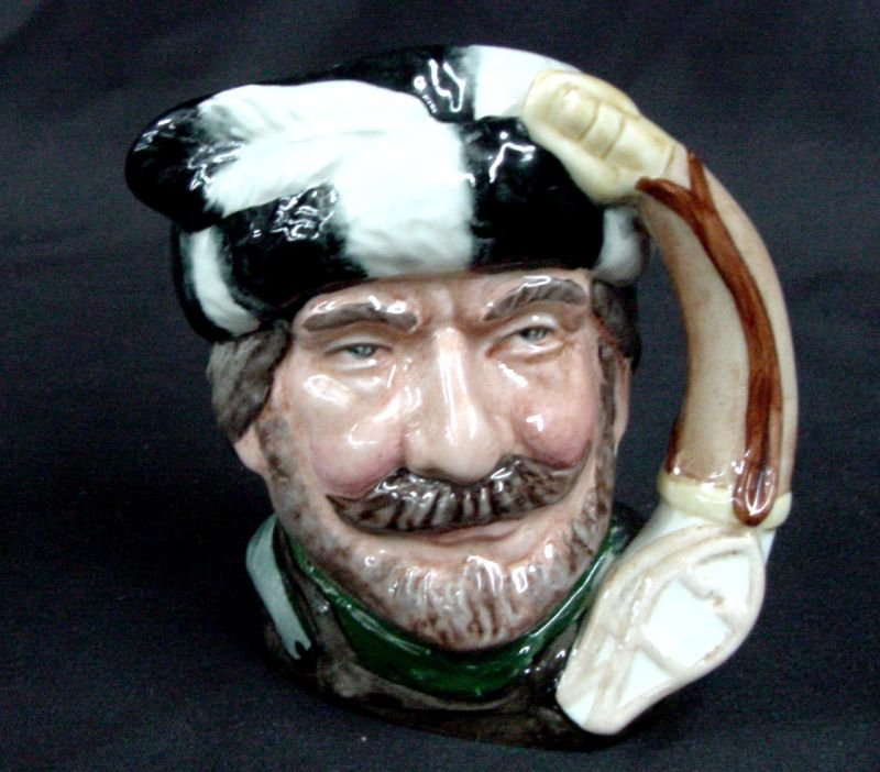 The Trapper Royal Doulton 1966 Toby
