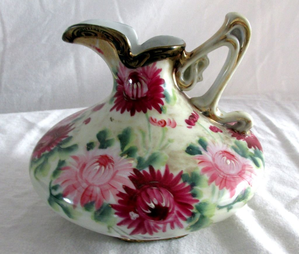 Royal Nippon Floral Pitcher