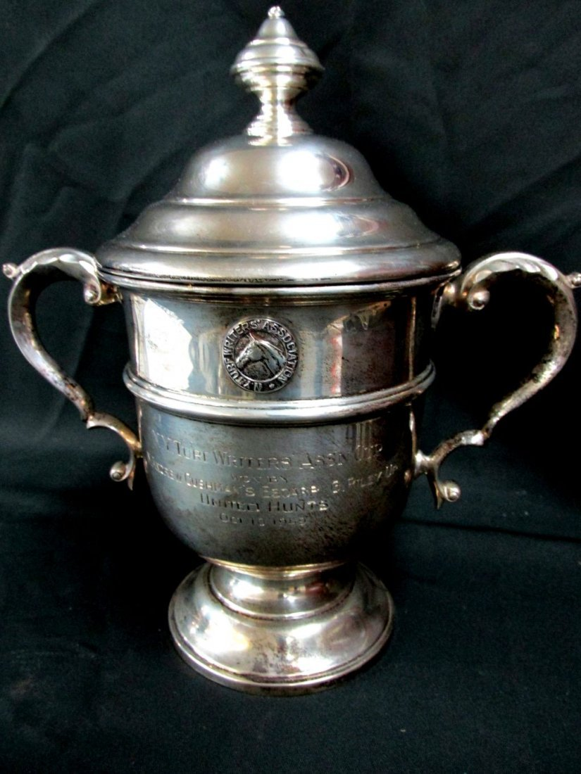 1949 NY Turf Writers' Ass'n. Cup Sterling Horse Trophy