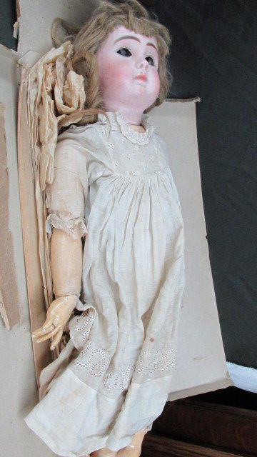 "J. S. Steiner Paris 28"" Porcelain Doll"