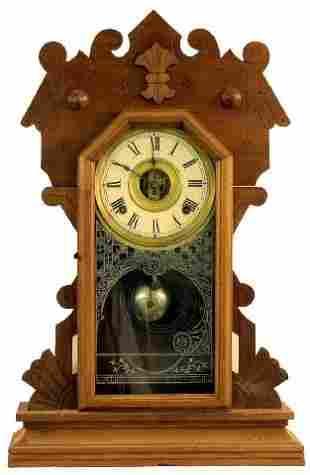 Walnut Sessions Victorian Kitchen Clock