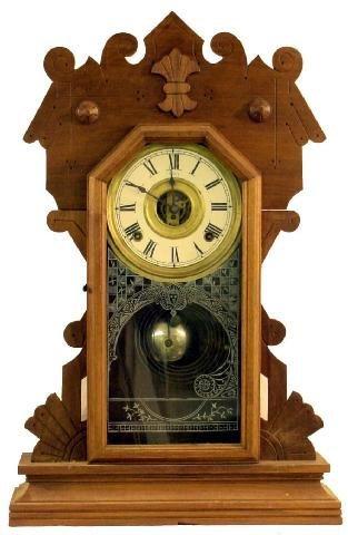 1000: Walnut Sessions Victorian Kitchen Clock