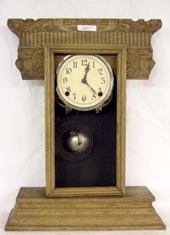 1008: Gilbert Lion's Head Kitchen Clock Needing Attenti