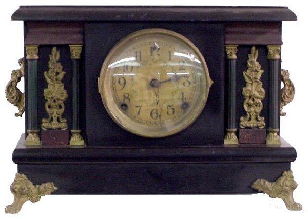 1201: Arcadia Sessions Black Mantel Clock
