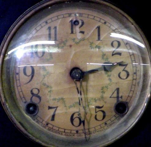 1201: Arcadia Sessions Black Mantel Clock - 2