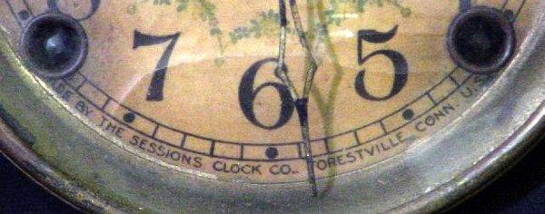 1201: Arcadia Sessions Black Mantel Clock - 3