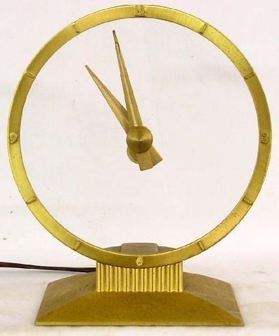 2000A: Jefferson Golden Hour Electric Clock