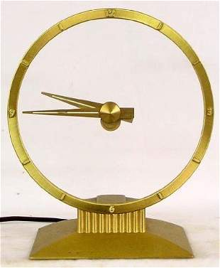 Jefferson Golden Hour Electric Clock