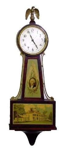 Seth Thomas Banjo Electric 20th Century Clock