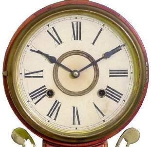 Mahogany 20th Century Banjo Clock