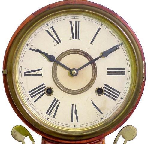 2007: Mahogany 20th Century Banjo Clock