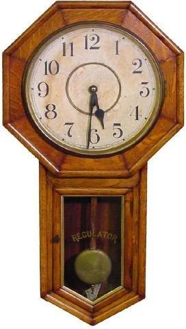 2012: Waterbury School House Regulator Wall Clock