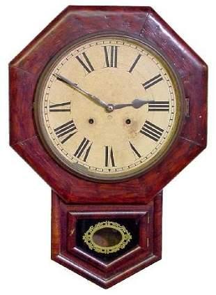Ansonia School House Wall Clock