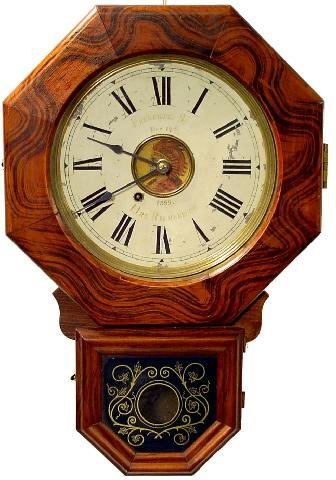 2014: New Haven School House Clock