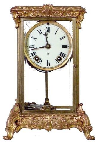 2017: Ansonia Peer Model Crystal Regulator Clock