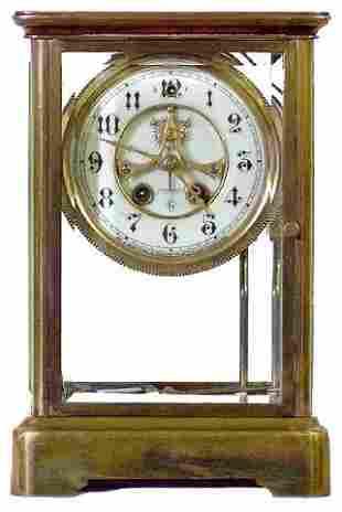 Valerie Gilbert Crystal Regulator Clock