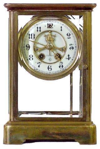 2018: Valerie Gilbert Crystal Regulator Clock