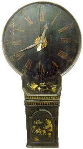 2267: Act Of Parliament Chinoiserie Wall Clock