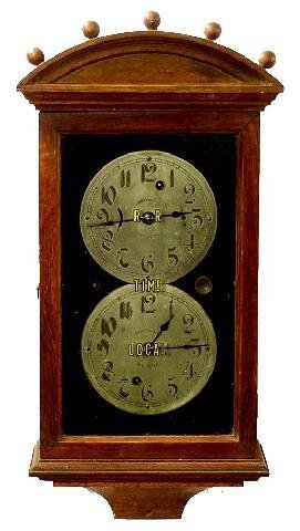 2271: Gamewell RR & Local Wall Clock