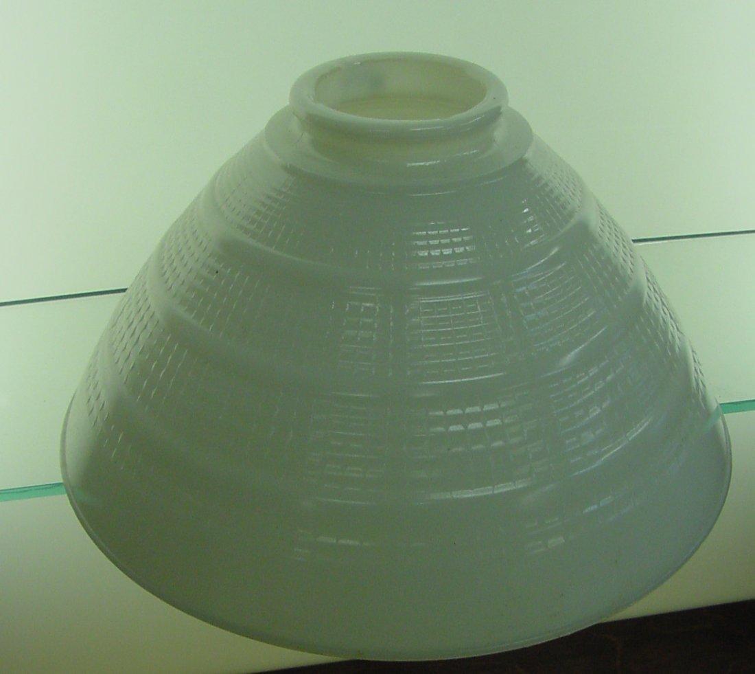 Milk Glass Floor Lamp Shade