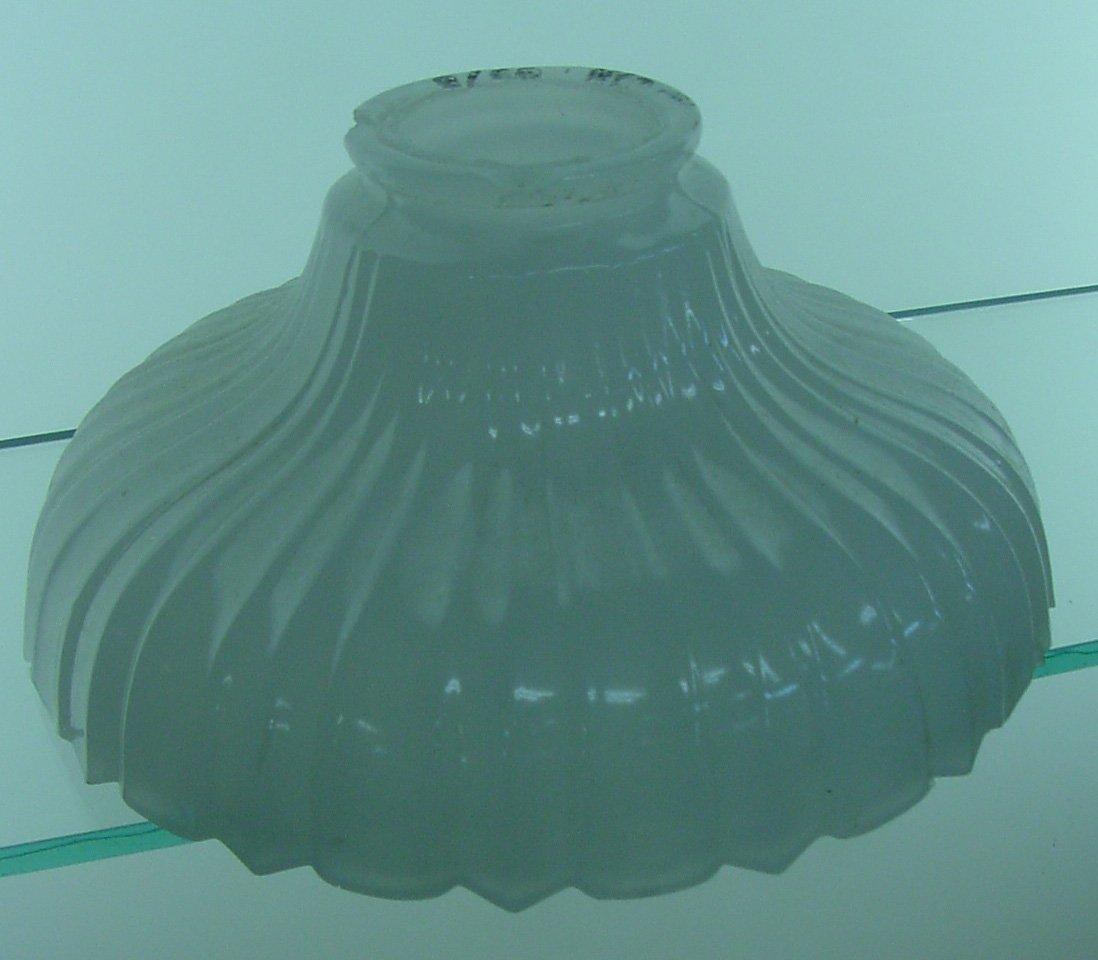 Gas Milk Glass Lamp Shade