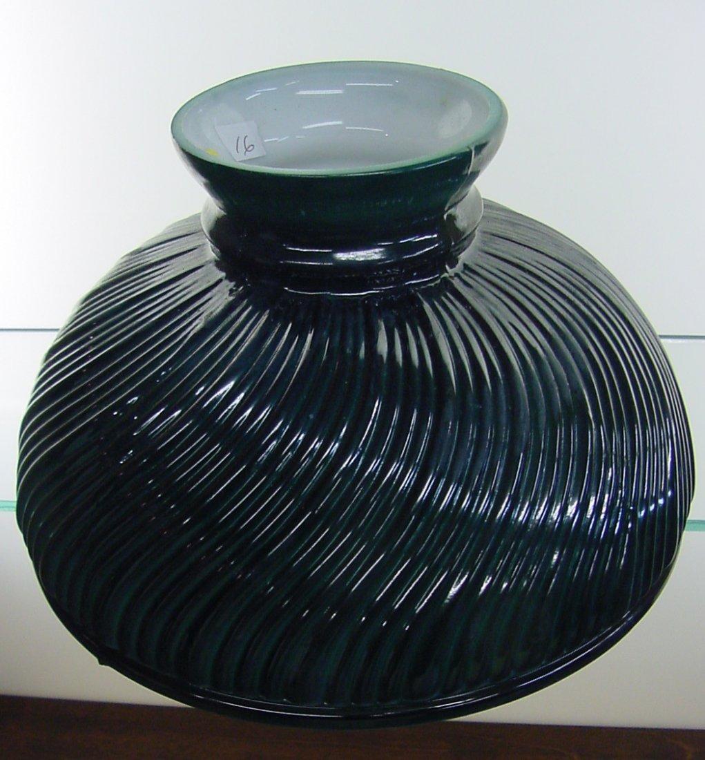 "Pr. 10"" Sprayed Emerald Green Shades"