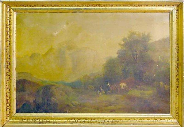 1: 19th Century Hudson River School Landscape