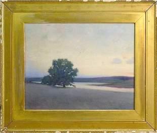 American Tonalist Landscape by Corwin Knapp Linson,