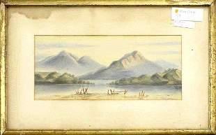 19th Century Northwestern Landscape by W. S. Parrott