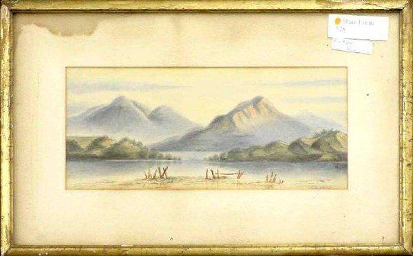 6: 19th Century Northwestern Landscape by W. S. Parrott