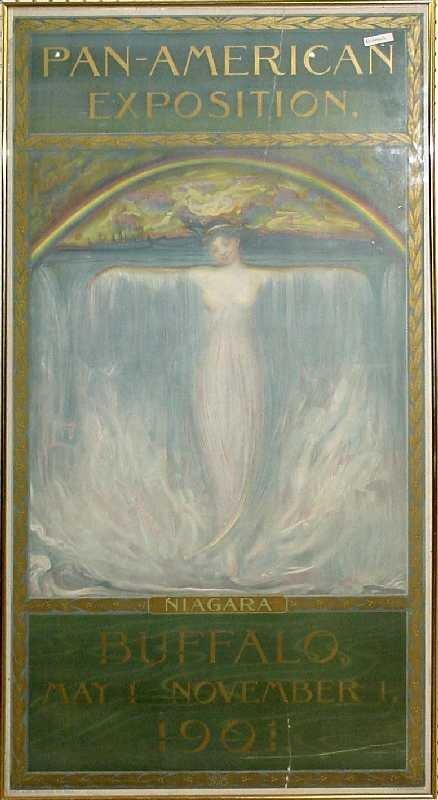 11: Pan American Expo Print, 1901 Niagara