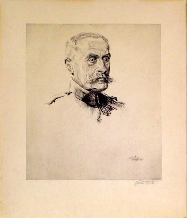 15: Portrait of Military Figure by Walter Tittle