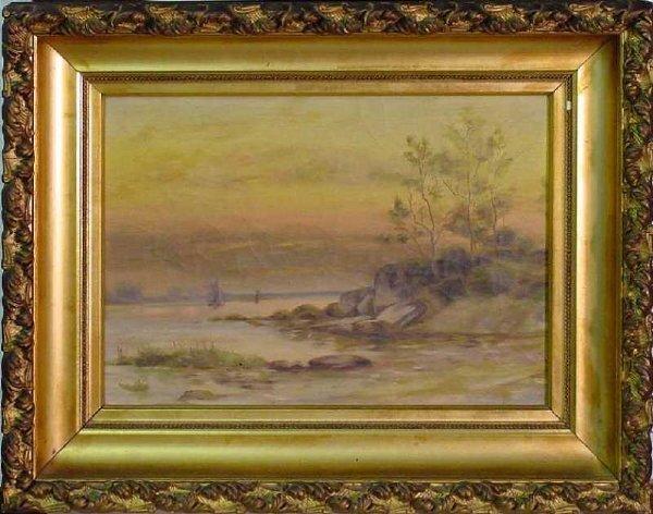 16: 19th Century Hudson River School Landscape