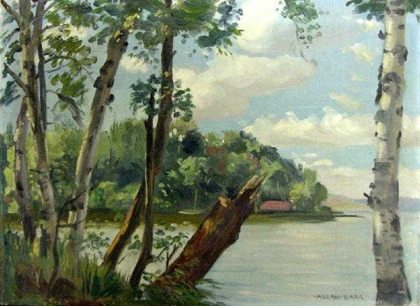 23: Summer Lake View by Allan Barr