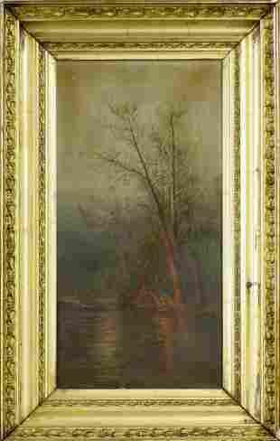 19th Century Evening Campfire, Valerie Walter