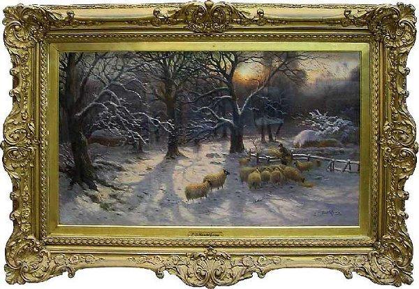 101: Sheep In Pastoral British Setting, George Lucas Ha