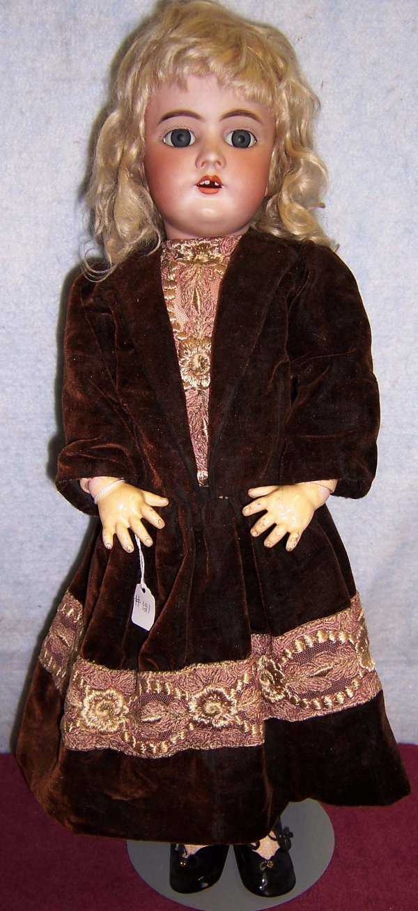 121: Handwerck #3 German Bisque Doll