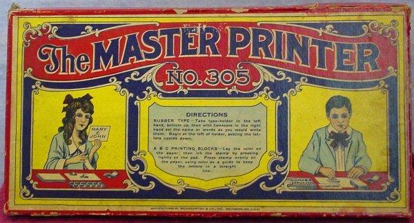 1001: Baumgarten Master Printer No. 305