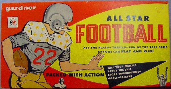 1003: Gardner All Star Football Box Game