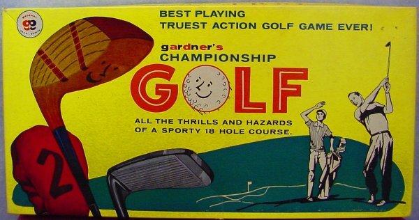 1004: Championship Golf Game Gardner No. 591