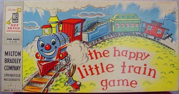 1006: 1957 Happy Little Train Game