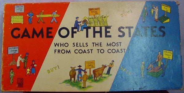 1007: Game of the States Milton Bradley