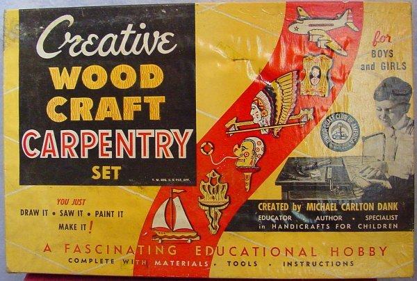 1011: Creative Wood Craft Carpentry Set