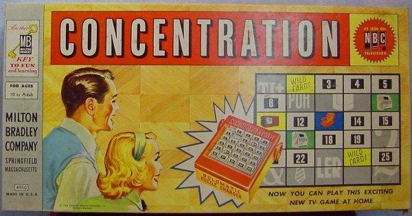1012: Milton Bradley Concentration Board