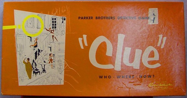 1013: 1956 Parker Brothers Clue Detective