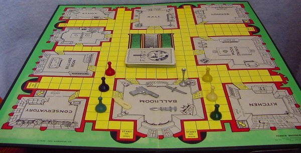 1013: 1956 Parker Brothers Clue Detective - 2