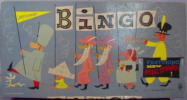 1016: Bingo Pressman Game