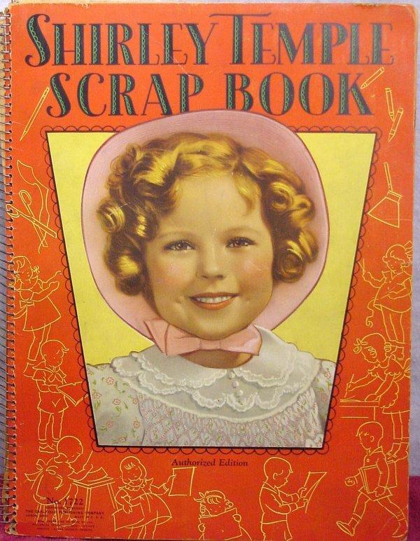 1072: Saalfield Shirley Temple Scrap Book